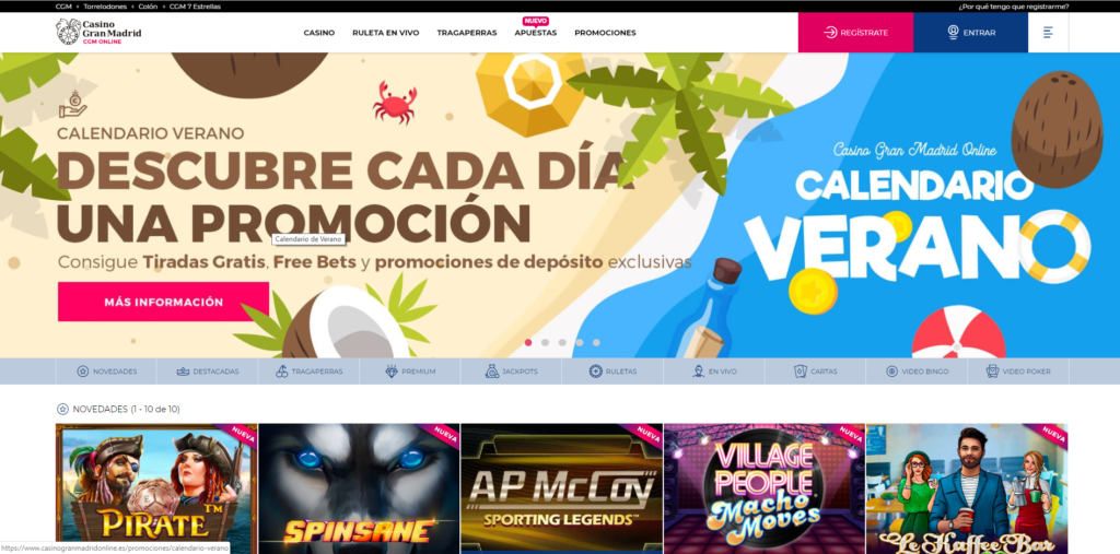 Casino Gran Madrid Online 1